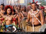 King-Mswati-lll-and-his-daughter-Princess-Sikhanyiso-take-part-in-the-traditional-reed-dance-in-Swaziland