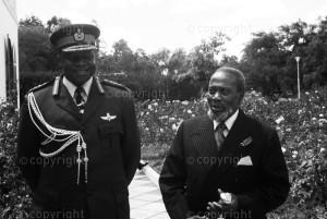 Jomo Kenyatta & Idd Amin