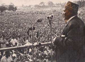 kenyatta giving speech